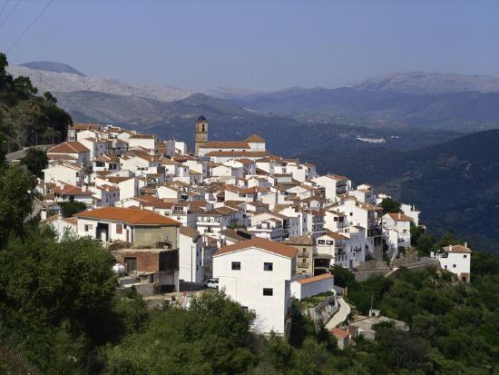 White Village of Algatocin, Andalucia, Spain, Europe-Short Michael-Photographic Print