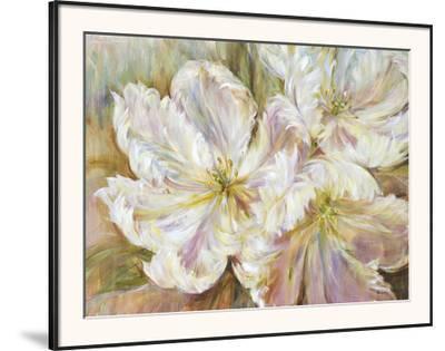 White Waltz-Liv Carson-Framed Art Print