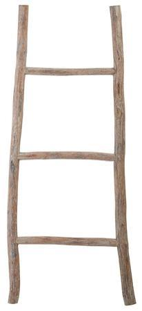 White Washed Wood Ladder - Small
