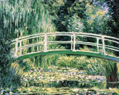 White Water Lilies-Claude Monet-Art Print