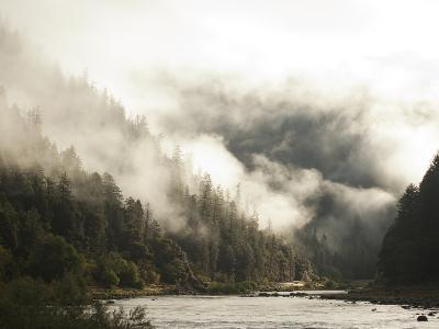 White Water Rafting Along the Wild and Scenic Rogue River in Southern Oregon.-Justin Bailie-Photographic Print