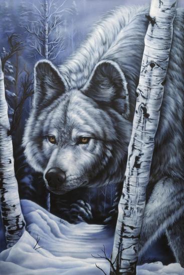 White Wolf-Jenny Newland-Giclee Print