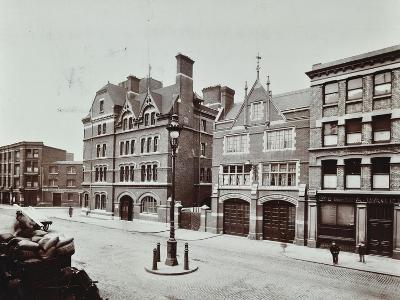 Whitechapel Fire Station, Commercial Road, Stepney, London, 1902--Photographic Print