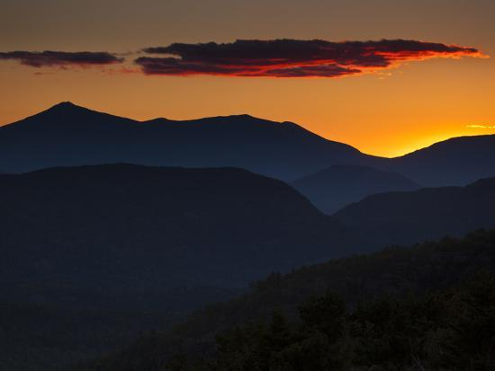 Whiteface Mountain in the High Peaks Region of Adirondak Park-Michael Melford-Photographic Print