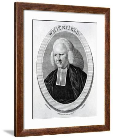 Whitefield, Engraved by Trotter after Russell, 1783--Framed Giclee Print