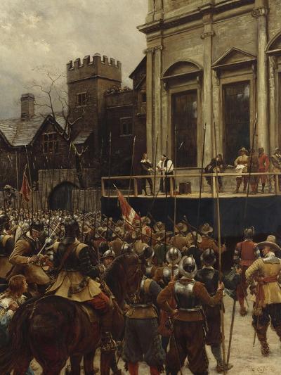 Whitehall: January 30th, 1649-Ernest Crofts-Giclee Print