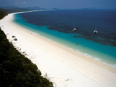Whitehaven Beach, Whitsunday Island, Australia-Stuart Westmoreland-Photographic Print