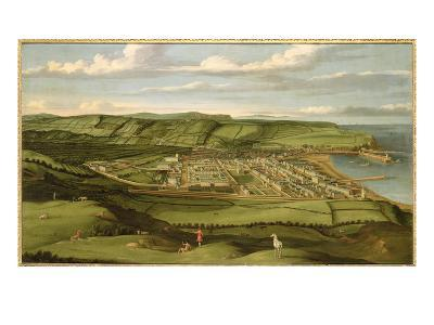 Whitehaven, Cumbria, Showing Flatt Hall, c.1730-35-Matthias Read-Giclee Print