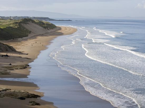 Whiterocks Beach from Dunluce Road Near the Seaside Town of Portrush-Rich Reid-Photographic Print
