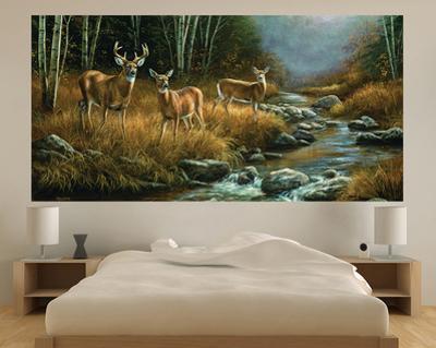Beautiful Deer wall murals artwork for sale Posters and Prints