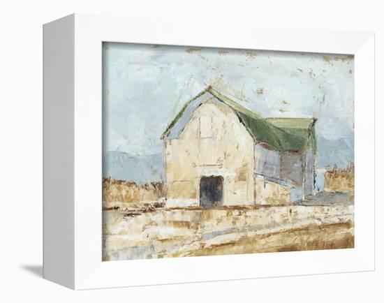 Whitewashed Barn IV-Ethan Harper-Framed Stretched Canvas