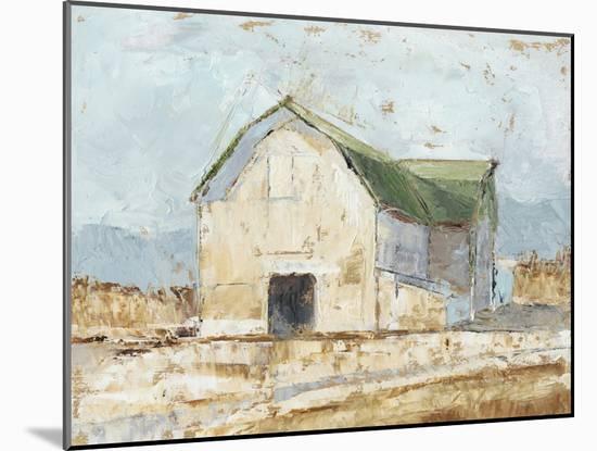 Whitewashed Barn IV-Ethan Harper-Mounted Art Print