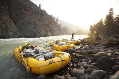 Whitewater Rafting on the Chilko River. British Columbia, Canada-Justin Bailie-Photographic Print