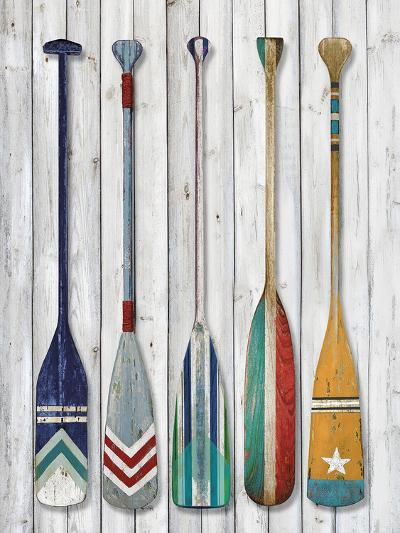 Whitewater Slalom-Mark Chandon-Giclee Print