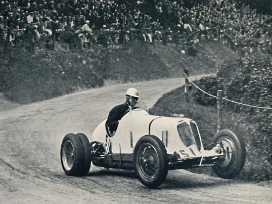 'Whitney Straight (Maserati) breaks the record, 1934', 1934, (1937)-Unknown-Photographic Print