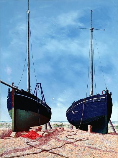 Whitstable Oystermen, 1948-Tristram Paul Hillier-Giclee Print
