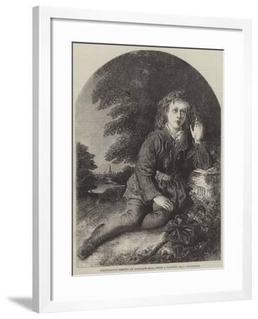 Whittington Resting on Highgate-Hill-Frederick Newenham-Framed Giclee Print