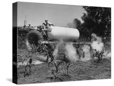 Whitwood Farm, Using of Anhydrous Ammonia Fertilizer