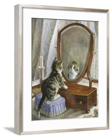 Who Is the Fairest of Them All-Frank Paton-Framed Giclee Print