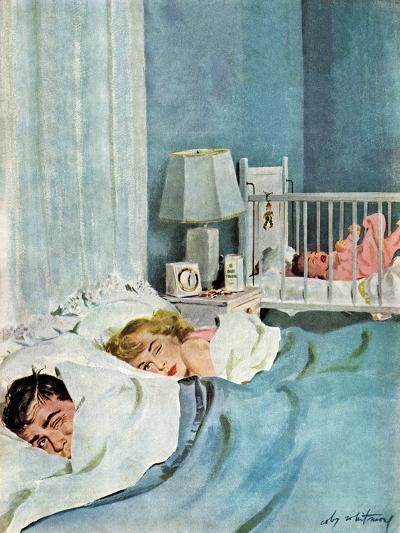 """Who's Turn?"", January 21, 1950-M^ Coburn Whitmore-Giclee Print"
