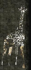 Giraffe on Grey by Whoartnow