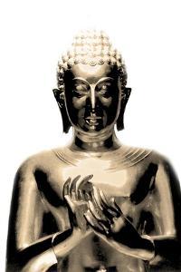 Gold Budda by Whoartnow