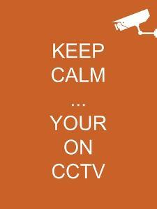 Keep Calm Your're on CCTV by Whoartnow