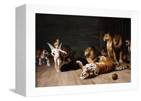 Whoever You Are, Here Is Your Master (Love, the Conqueror)-Jean Leon Gerome-Framed Premier Image Canvas
