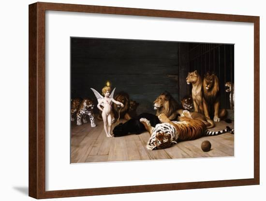 Whoever You Are, Here Is Your Master (Love, the Conqueror)-Jean Leon Gerome-Framed Giclee Print