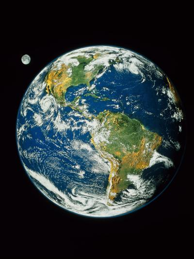 Whole Earth (Blue Marble 2000)--Photographic Print