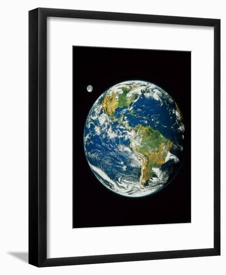 Whole Earth (Blue Marble 2000)--Framed Photographic Print