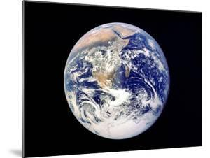 Whole Earth from Space, Viewed from Apollo 17, December 1972