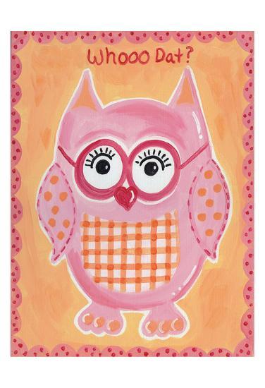 Whooo Dat-Tammy Hassett-Art Print
