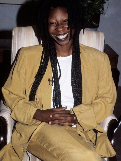 Whoopi Goldberg, 1988-Isaac Sutton-Photographic Print