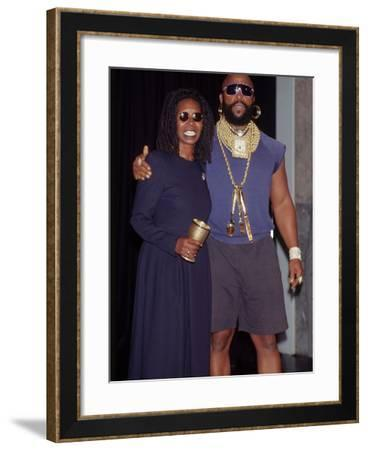 Whoopi Goldberg, Guest of Honor, Friars Club Roast, October 8, 1993-Frederick Watkins-Framed Photographic Print