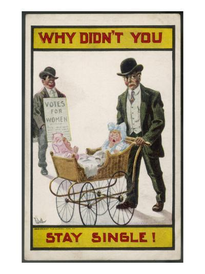 Why Didn't You Stay Single?--Giclee Print