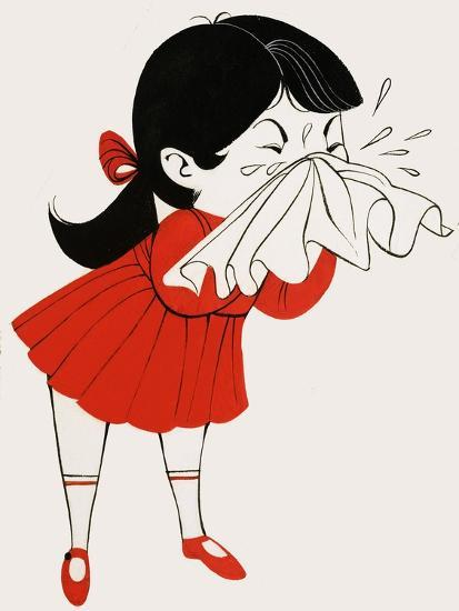Why Do We Sneeze Giclee Print by | Art com