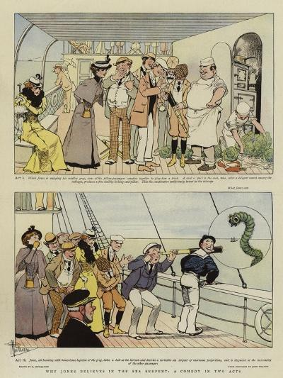Why Jones Believes in the Sea Serpent, a Comedy in Two Acts-Albert Guillaume-Giclee Print