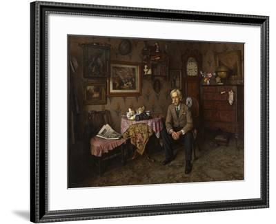 Why War? 1938-Charles Spencelayh-Framed Giclee Print