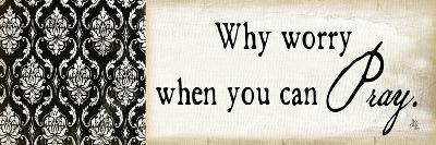 Why Worry-Jennifer Pugh-Art Print