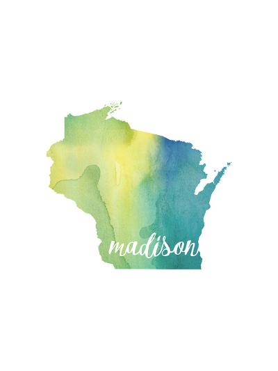 WI Madison-Paperfinch-Art Print