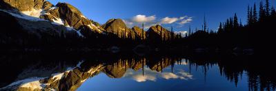 Wica Lake and Valhalla Range British Columbia Canada--Photographic Print