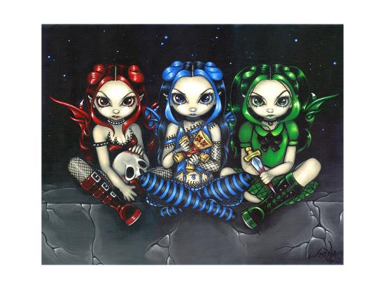 Wicked, Tricksy and False-Jasmine Becket-Griffith-Art Print