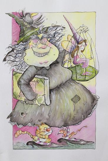 Wicked Witch, 1998-Maylee Christie-Giclee Print
