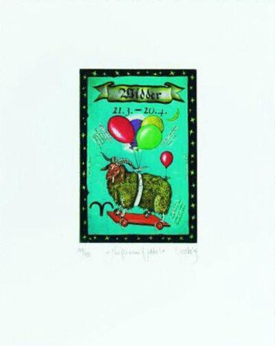 Widder - Sternzeichen-Rainer Hercks-Limited Edition