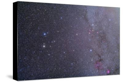Widefield View of the Gemini Constellation with Nearby Deep Sky Objects