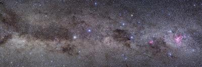 Widefield View of the Southern Constellations of Centaurus and Crux--Photographic Print