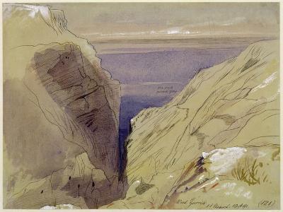 Wied Zurrik, Malta, 10 Am, 11th March-Edward Lear-Giclee Print