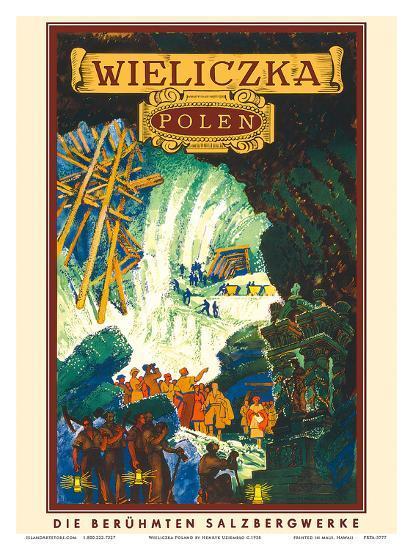 Wieliczka, Polen (Poland)-Henryk Uziemb?o-Art Print
