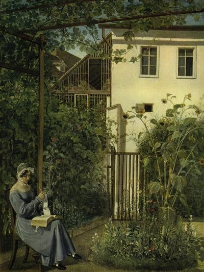 """""""Wiener Hausgarten"""" (Vienna Garden)-Eduard Ritter Von Engerth-Giclee Print"""